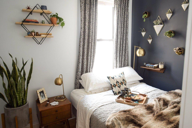 Modern Bedroom Makeover Modern bedroom decor, Mid