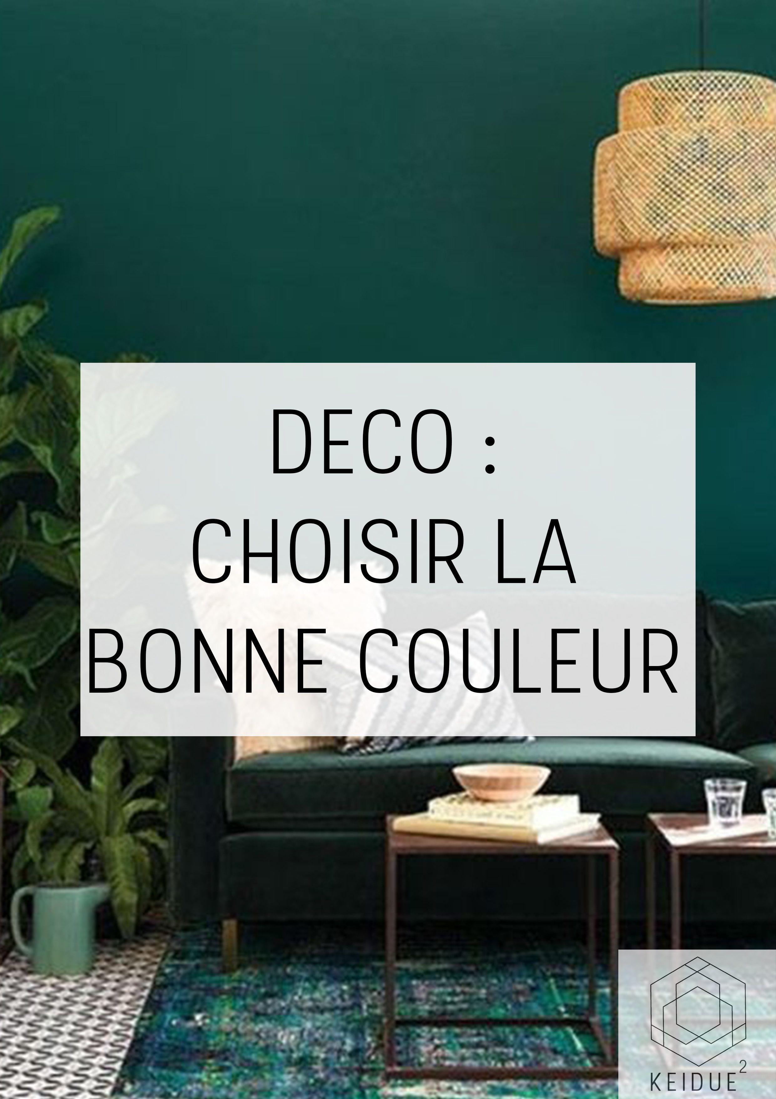 DÉCO : Choisir la bonne couleur pour votre intérieur