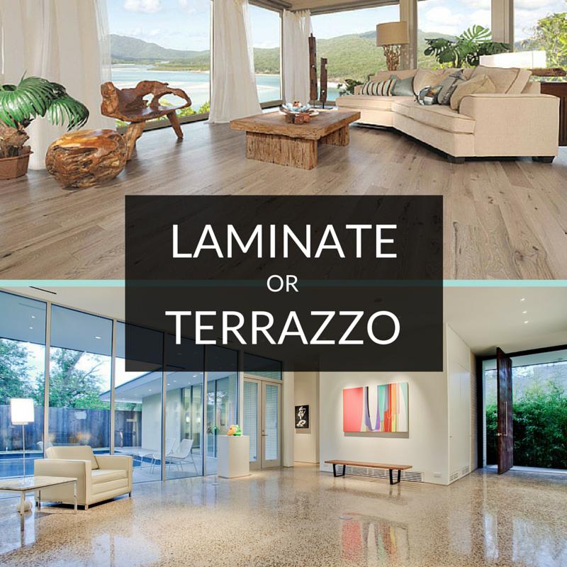 Flooring Showdown Terrazzo Versus Laminate Terrazzo