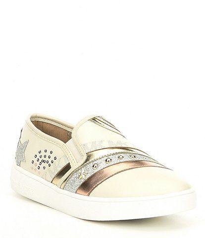 12d8fc6b5e3a MICHAEL Michael Kors Girls  Jem Starlight Sneaker