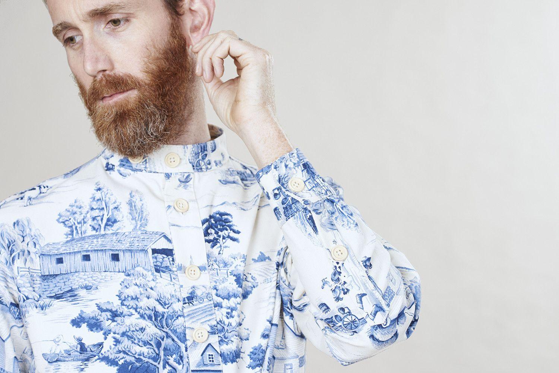 Emperor toile shirt  hadjio.com #hadjio #boilersuit #sire_suit #toile