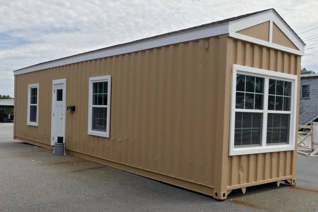 The Veterans Housing Development Built This Home From A Shipping Container  To Be Used As Housing