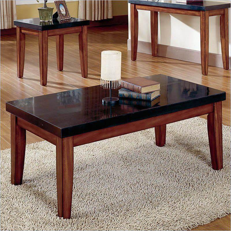 Montibello Granite Cherry Coffee Table