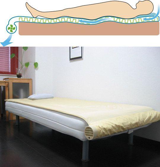 Air Conditioned Bed / Cama com ar-condicionado ! // EU QUERO!