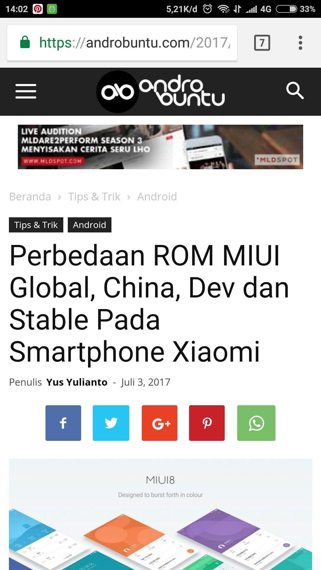 Perbedaan Antara Rom Miui Yang Sering Ada Di Pasaran Baca Selengkapnya Di Androbuntu Com Tips Android