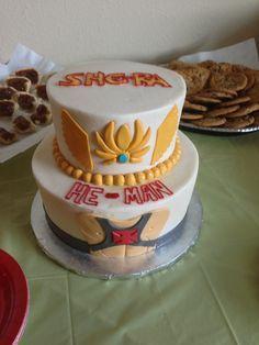 Marvelous She Ra Cake Ideas Google Search Bolo Festa Aniversario Funny Birthday Cards Online Sheoxdamsfinfo