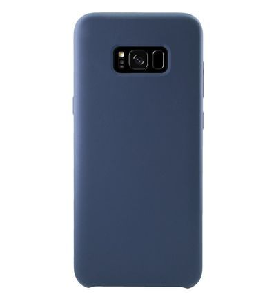 Coque THE KASE Samsung S8+ SoftGel Silicone bleu... - Galeries Lafayette