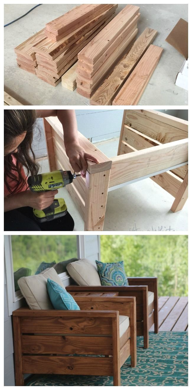 10 Diy Patio Furniture Ideas That Are Simple And Cheap Backyard