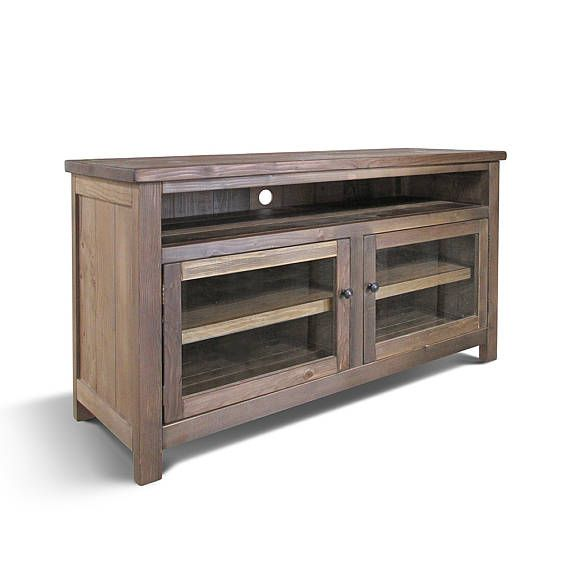 Delicieux Media Console TV Stand Console Cabinet Reclaimed Wood