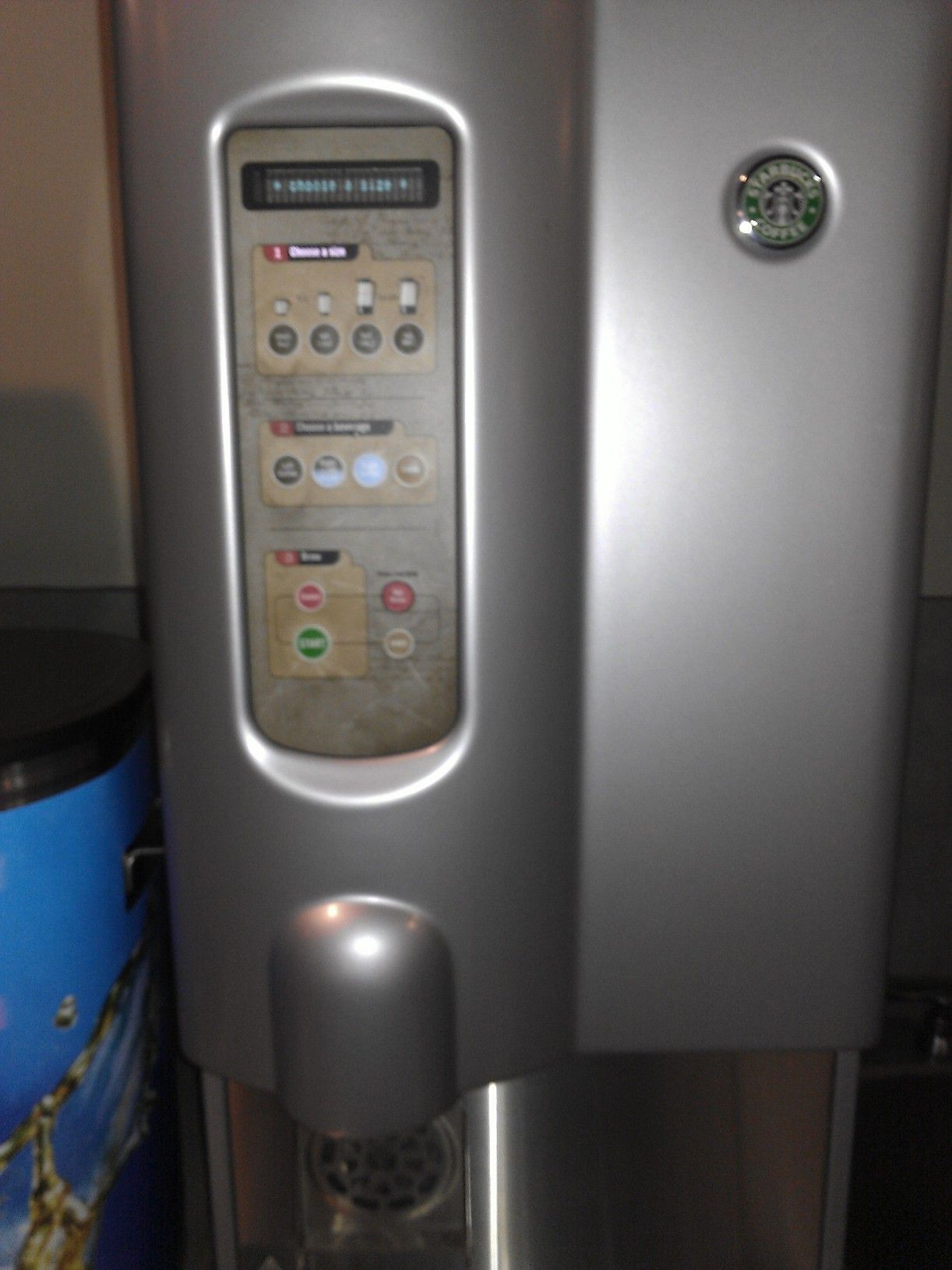 Yes, that is a super fancy soda dispenser with countless options.