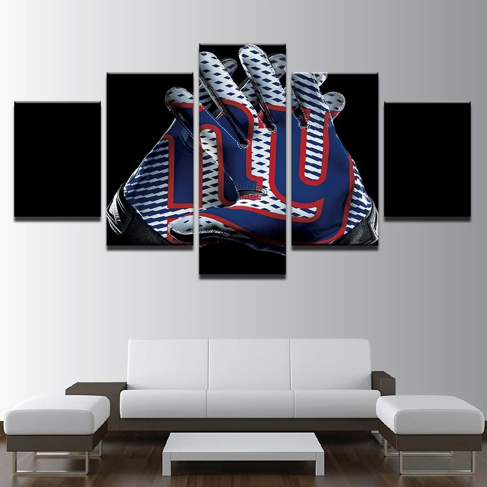 New York Giants Ny Nfl Football Panel Canvas Wall Art Home Decor