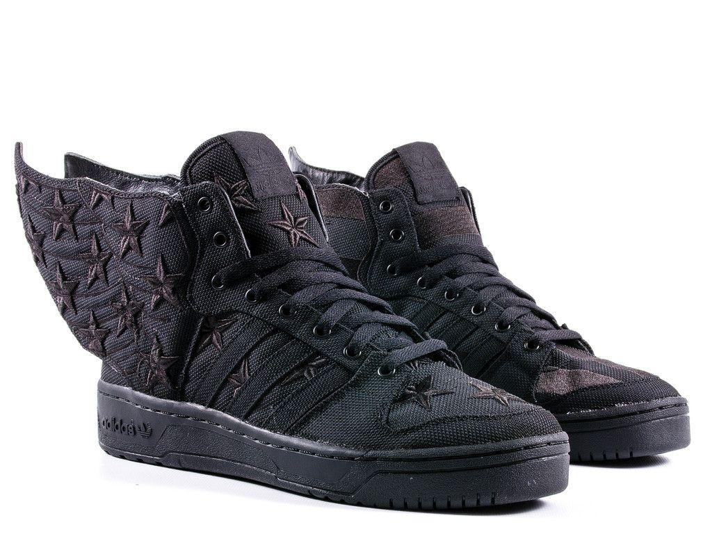Jeremy Scott Adidas Wings 2.0 All Black