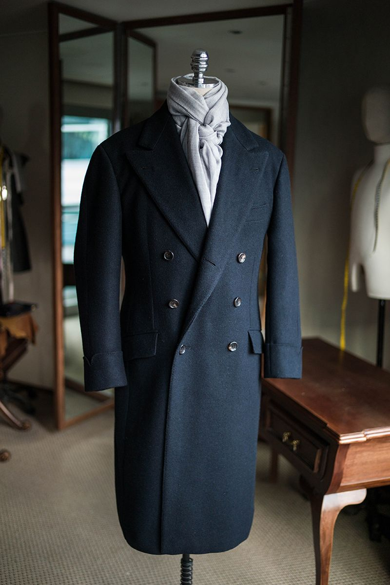 Heavy wool overcoat by B&TAILOR bntailor@naver.com | Men ...