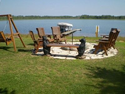 Another fire pit, on the lake.. yeah!  (I may make an exterior board at this rate)