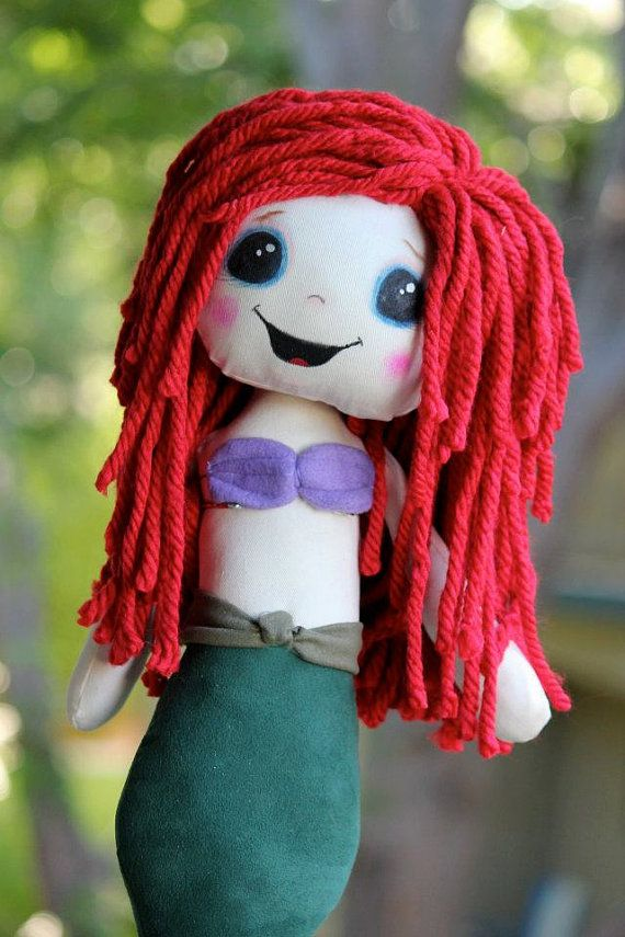 Disney Little Mermaid Ariel Inspired Cloth by SpookyPookyCreations, $50.00