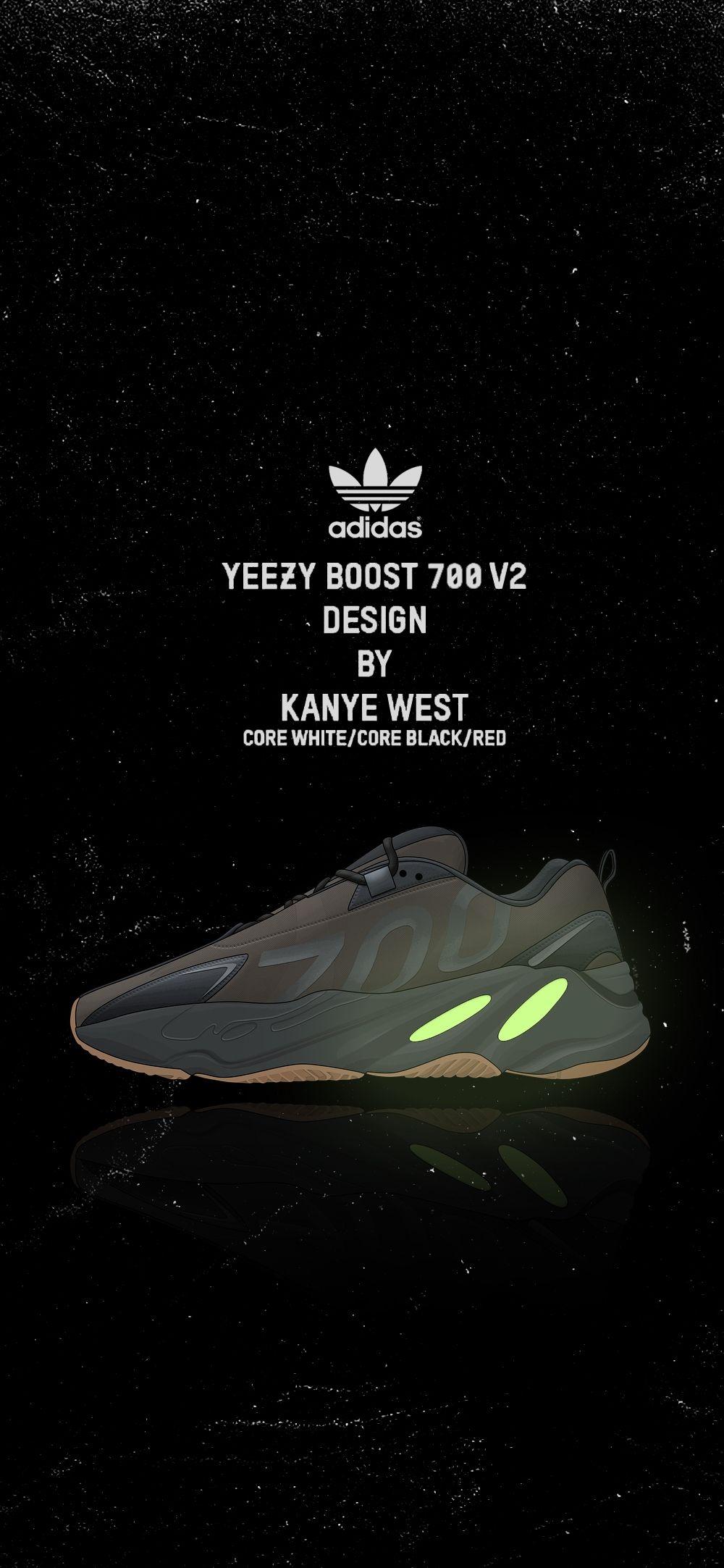 Yeezy Boost 700 Yeezy Black And Red Adidas Yeezy