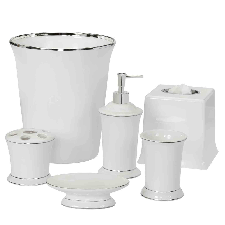 New Post white bathroom accessories set | LivingRooms | Pinterest