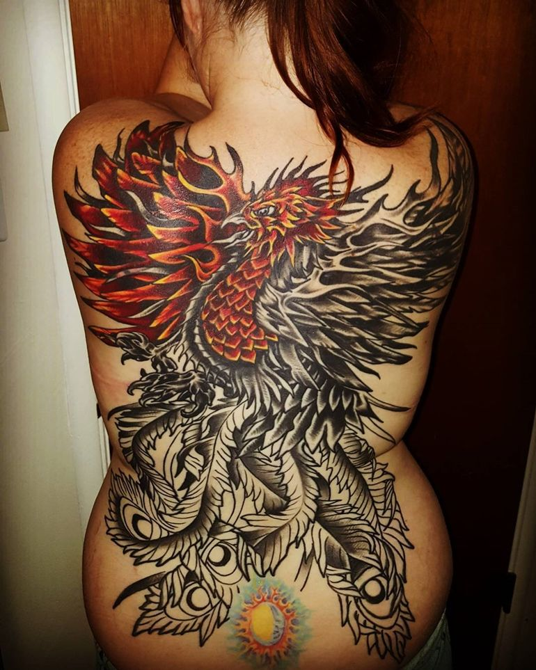 60+ Incredible Phoenix Tattoo Designs You Need To See | Phoenix ...