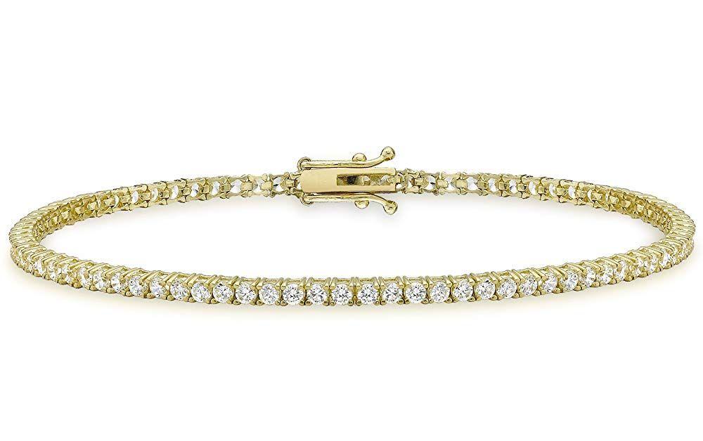 Pin Auf Damen Armband Gold