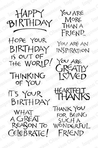 Pin by jessica frisbie on birthday pinterest birthday rubber stamps paper and card crafting supplies shipped worldwide bookmarktalkfo Choice Image