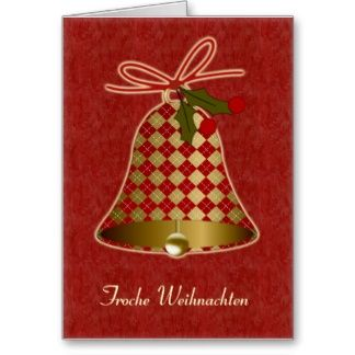 Pineandchristmasbellcard german christmas greeting cards pineandchristmasbellcard german christmas greeting cards german m4hsunfo
