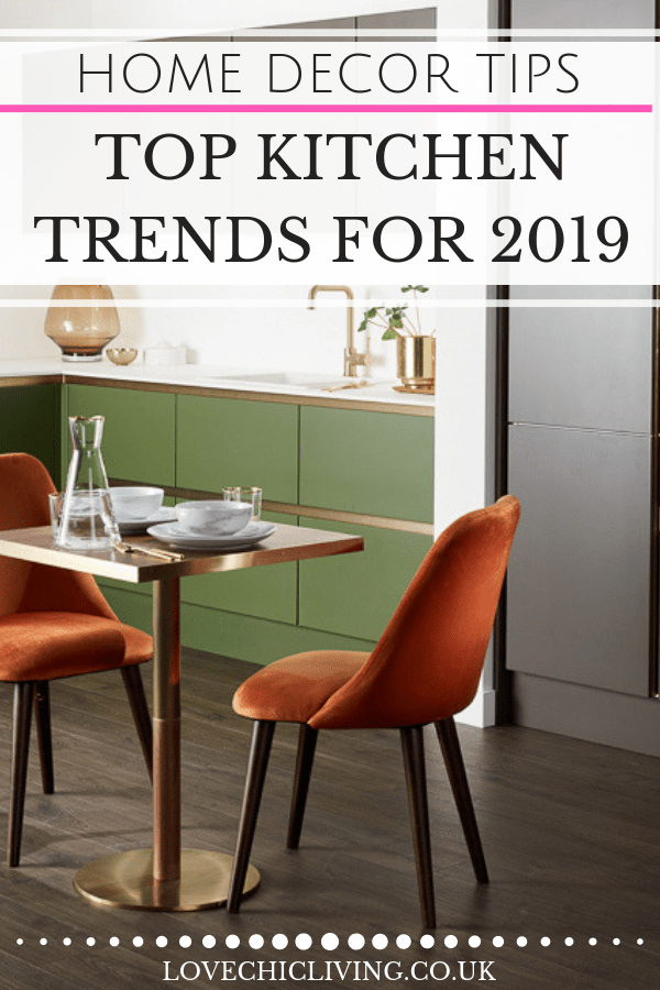 the latest kitchen trends 2019 when you want to add color to your cabinets or keep your interior design white and minimal check out these current