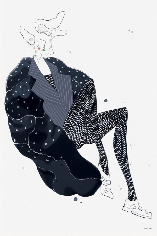 Photo of Fashion Illustrator: Velwyn Yossy