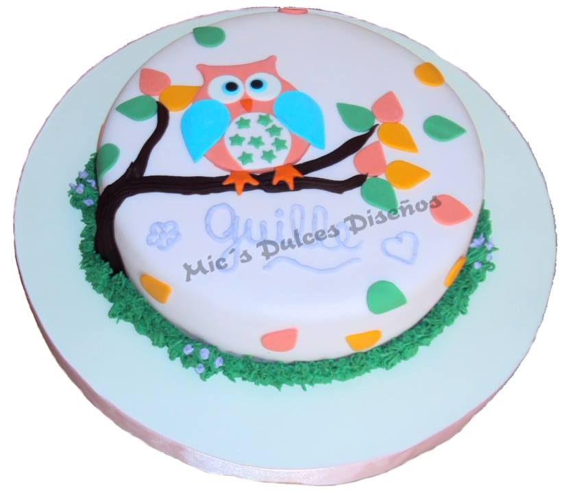 Torta Buhito. Para cumple de 1 año.