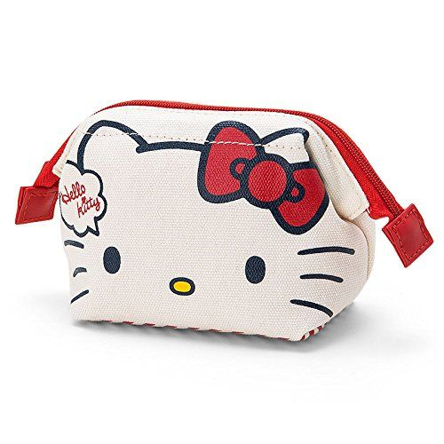 Sanrio Hello Kitty wirefilled pouch mini From Japan New  931f40d6a0d32