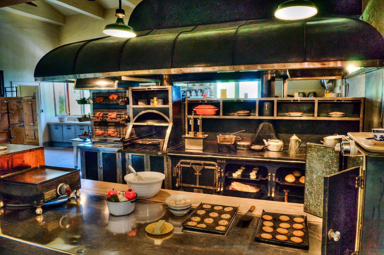 Hearst Castle Kitchen Cozinhas Cozinha Casas