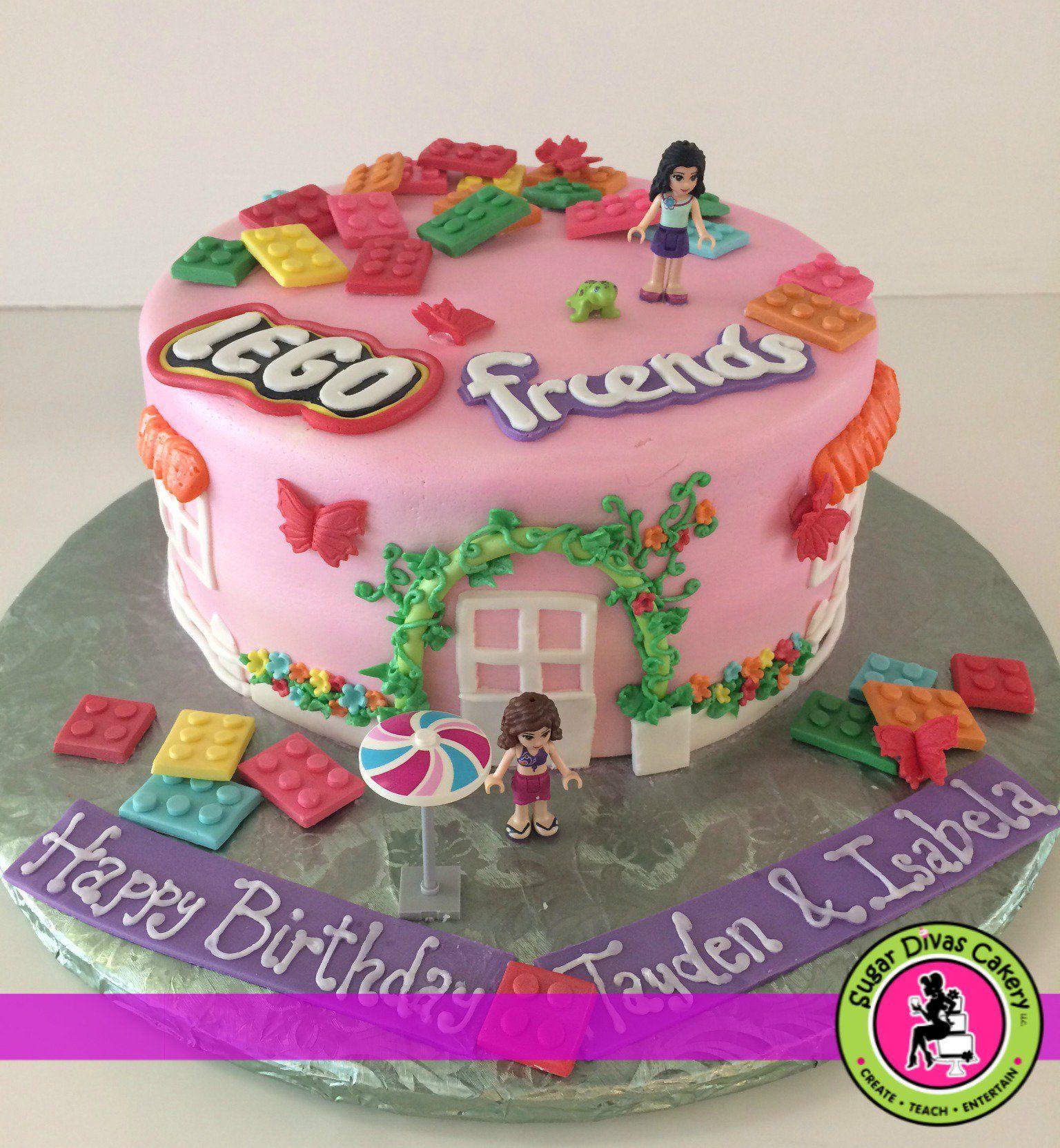 Image Result For Lego Friends Cake