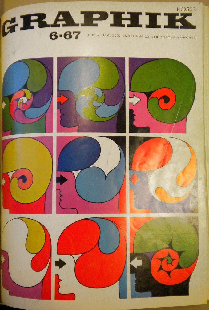 Graphik 6 1967 Cover