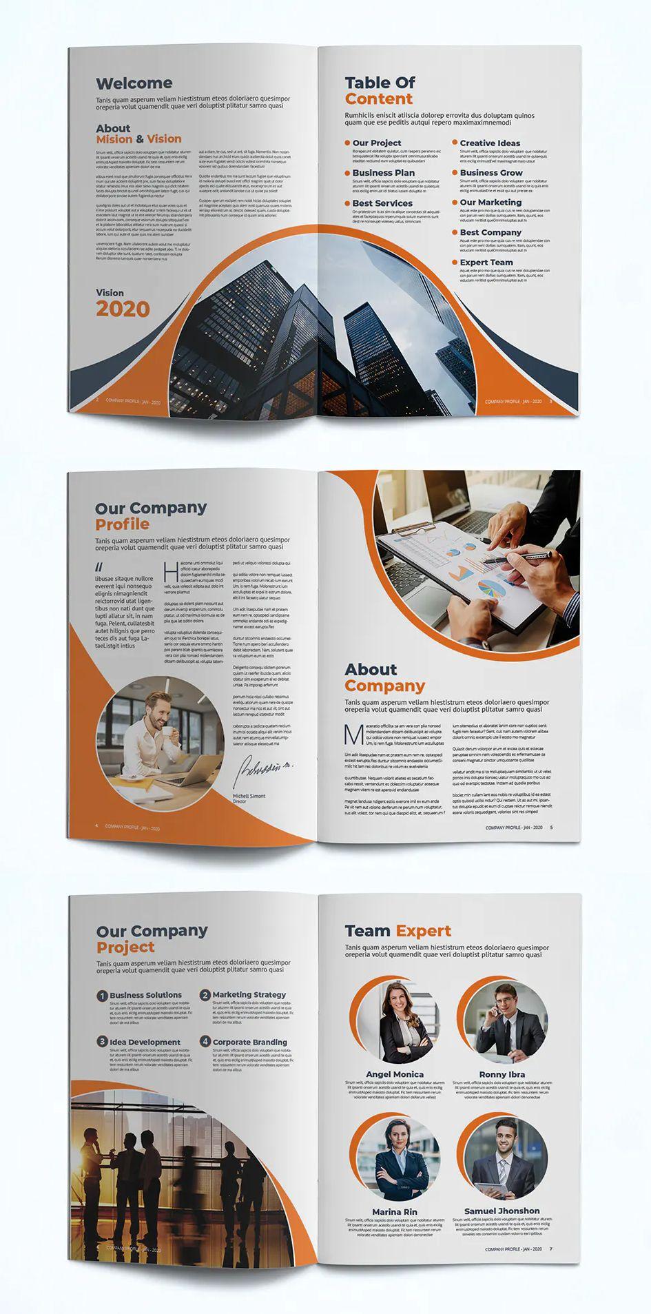 Company Profile Template Indd Pdf Company Profile Design Templates Company Profile Design Company Profile