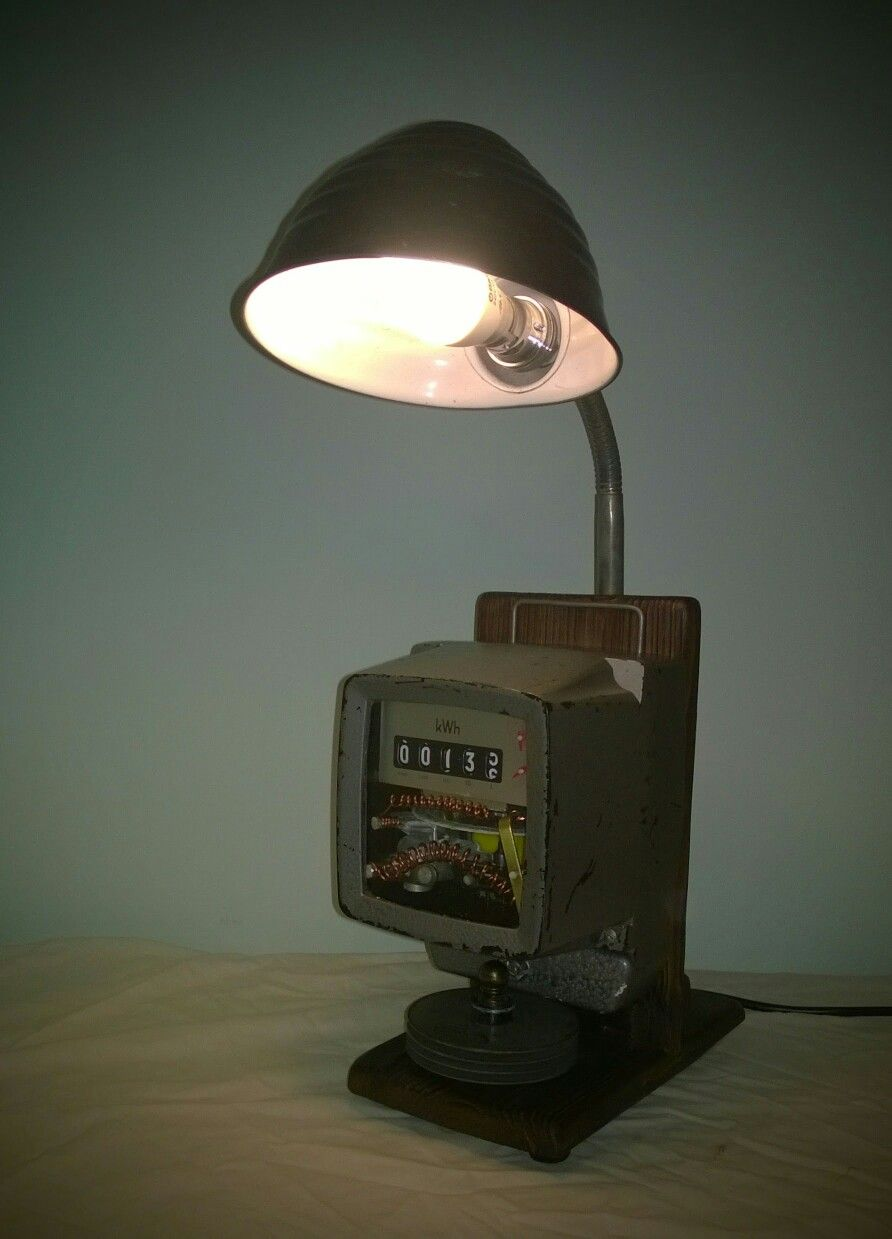 How To Make An Electric Meter Lamp