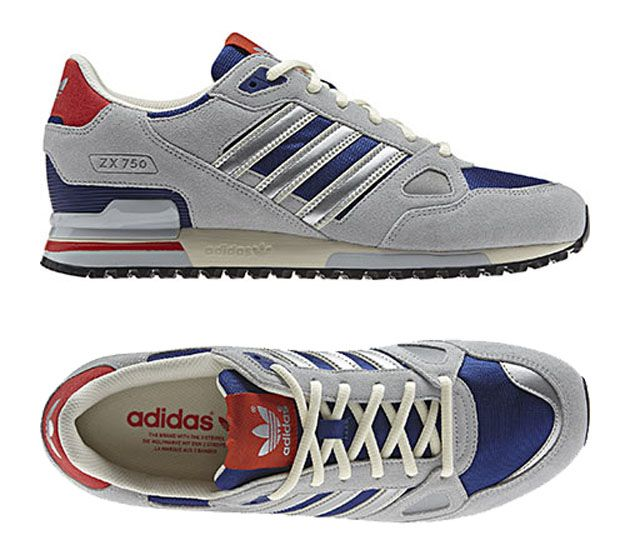 Grey Zx Originals Ink Hero Adidas Silver Metallic Clear 750 wZPFRn5Iq