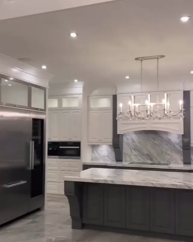 Photo of Kitchen with cooking / spices? Yes, please! I'm obsessed !! This is my dream kitchen