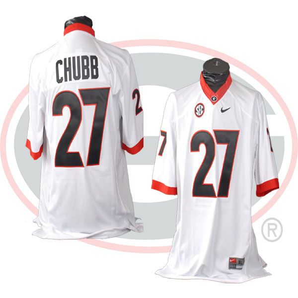 georgia bulldogs nick chubb jersey