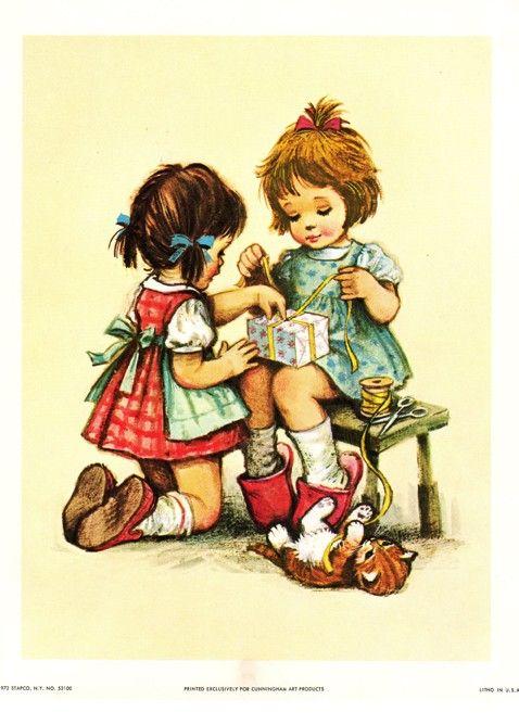 Pin by Karen Holyoak on Vintage Child   Pinterest   Illustrations ...