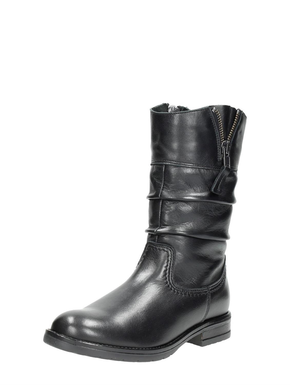 Visions trendy meiden laarzen - zwart