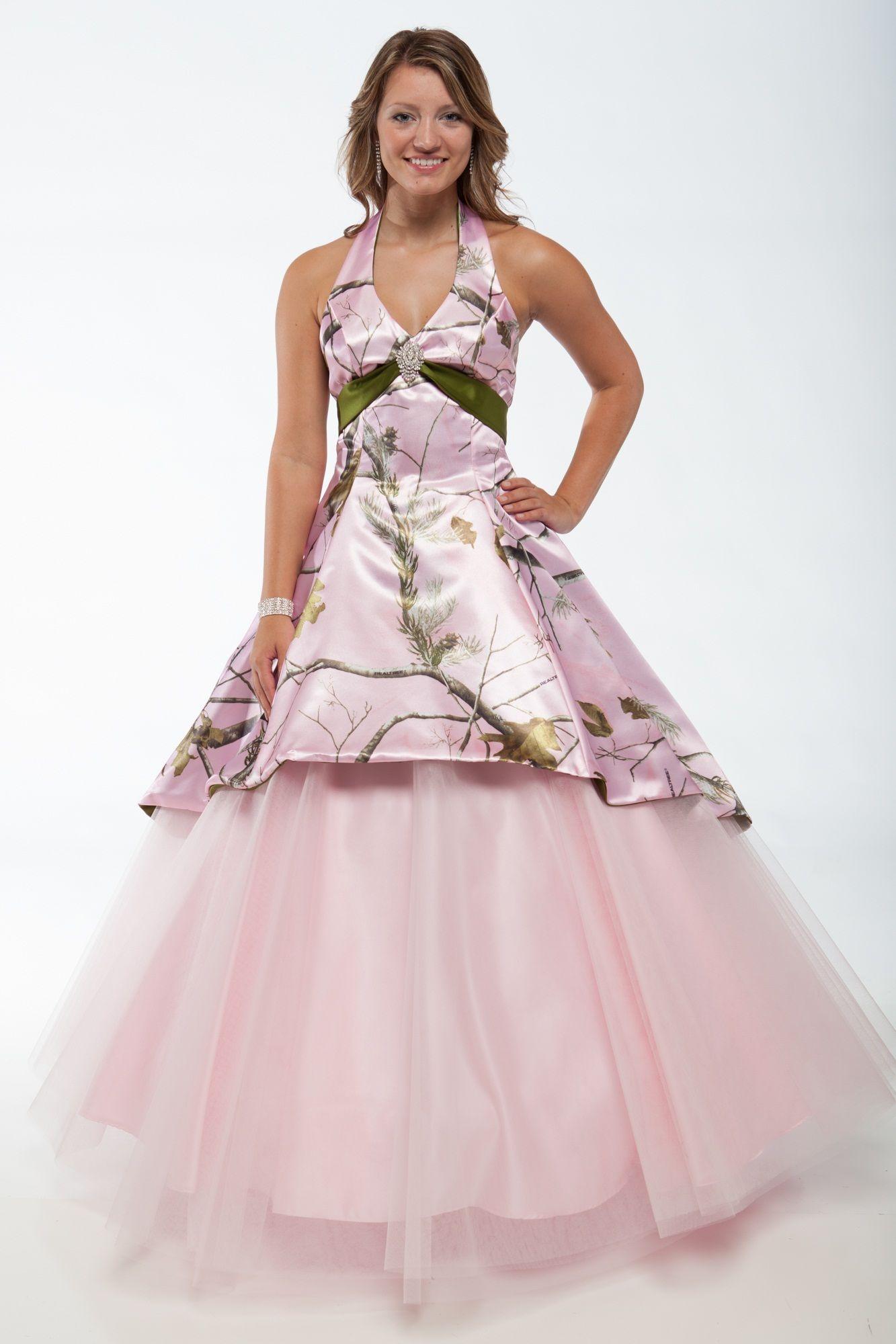 8d257d9d432c0 20 Camo Wedding Dresses Ideas You Must Love   dresses   Pink camo ...