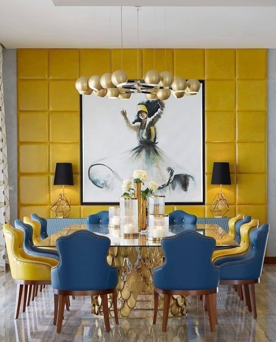 Dining Room Ideas On Instagram   Dining room design modern, Dining ...