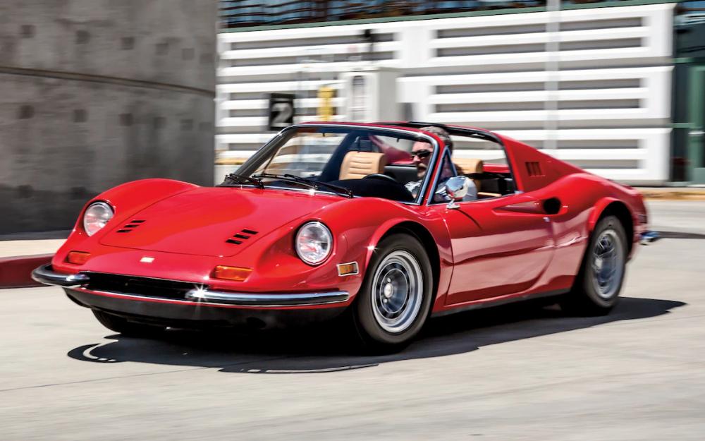 1973 Ferrari Dino 246GTS Classic Drive - Motor Trend Classic