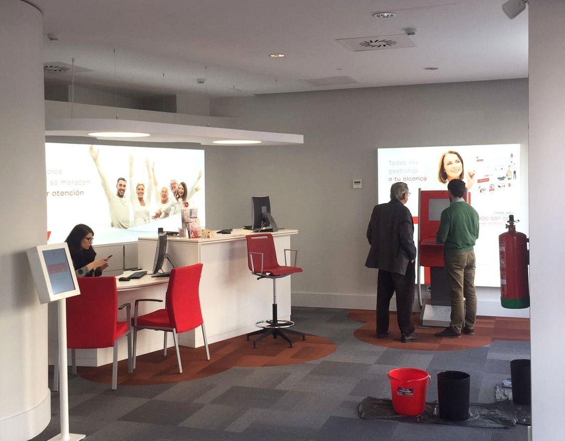 Digital Signage en la nueva oficina de EDP en Murcia #EDP #Murcia #marketing #DigitalSignage