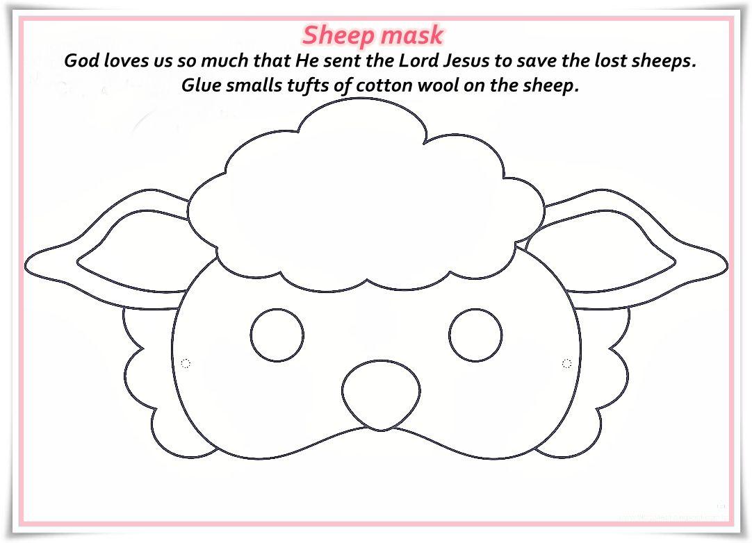 Image result for sheep mask … | Pinteres…