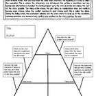 Plot Diagram / Plot Pyramid FREEBIE Graphic Organizer With