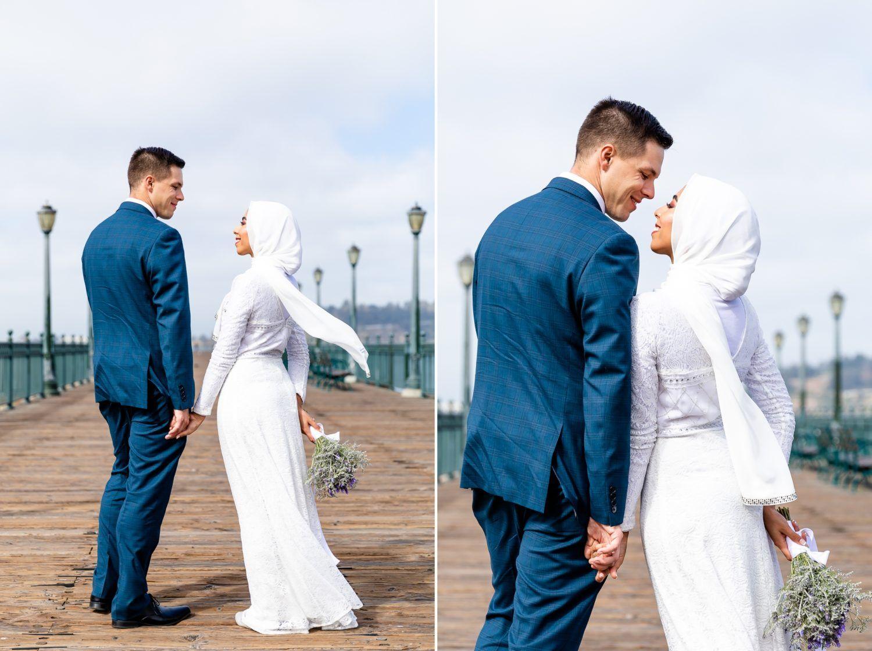 A joyful san francisco city hall wedding san francisco elopement