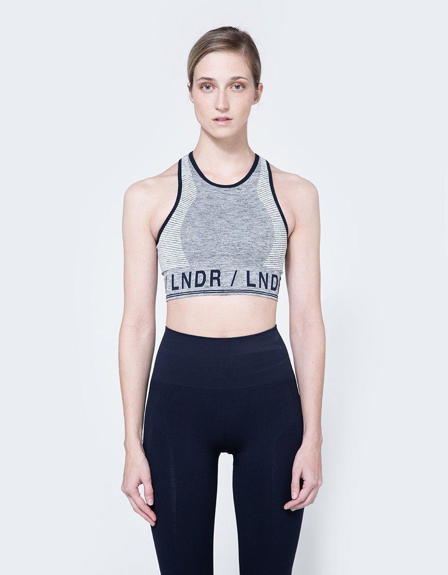 Aero Sports Bra in Grey Marl Bra, Clothes, Sport fashion