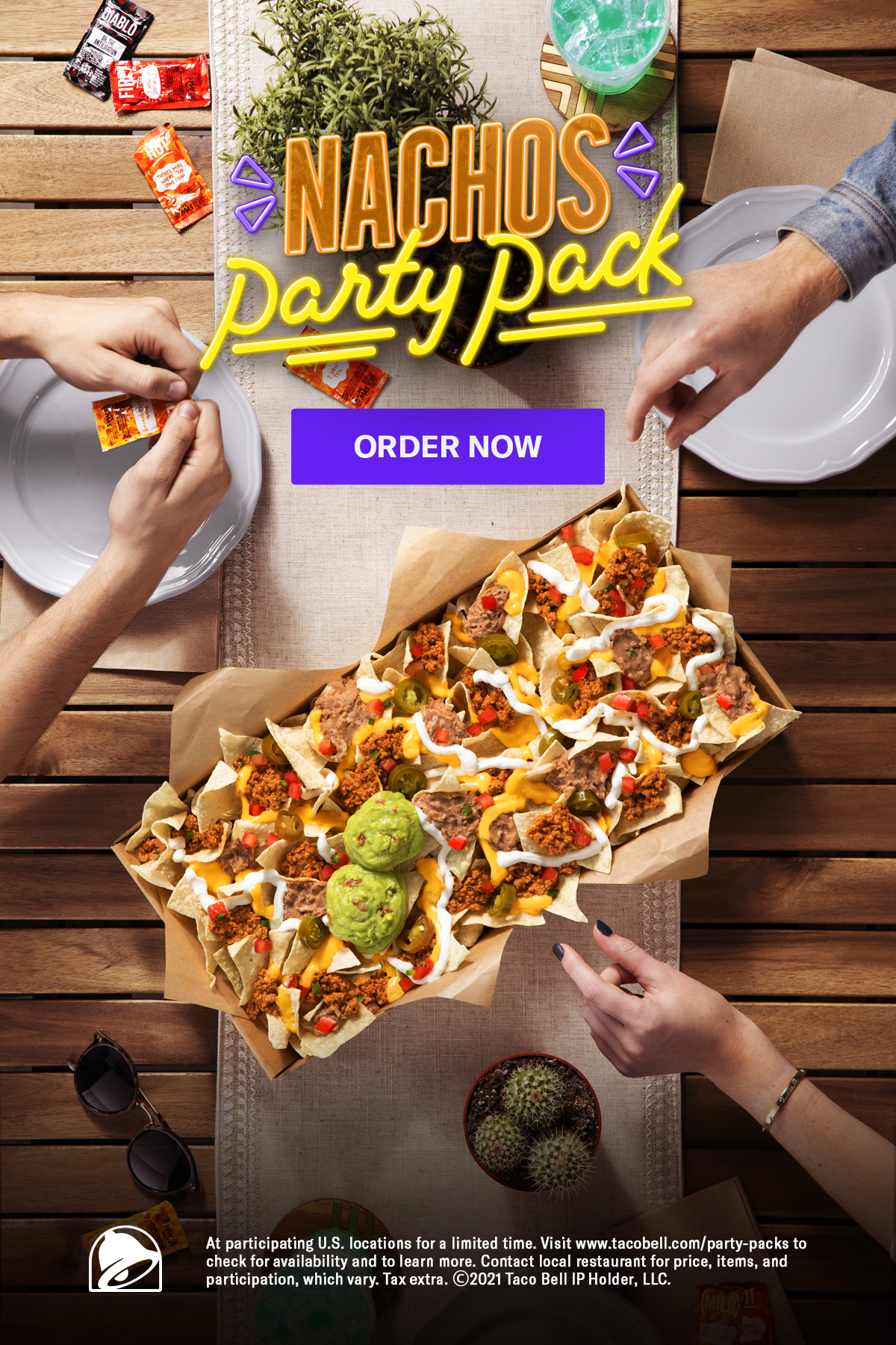 Nachos Party Pack Order Online Today Taco Bell In 2021 Food Best Food Ever Nacho Party