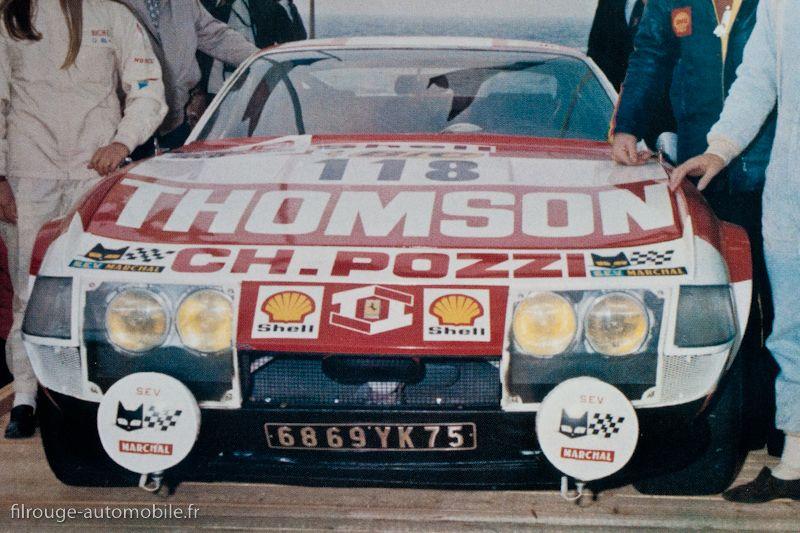 Ferrari 365 Gtb 4 Daytona Tour De France Auto 1972