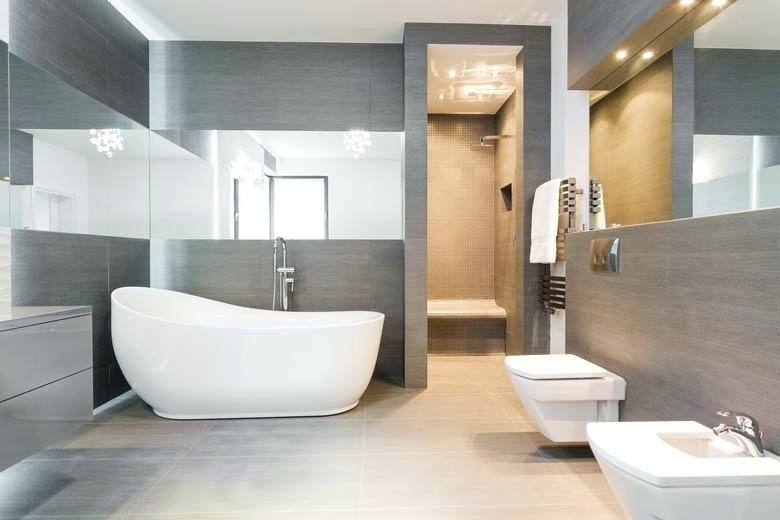 toilette dans la salle de bain e tout en longueur cacher wc dans ...